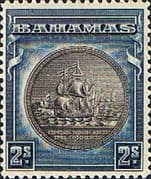 Bahamas 1931 Seal of Bahamas SG 131c Fine Mint