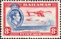 Bahamas 1938 George VI Flamingoes in Flight SG 160 Fine Mint