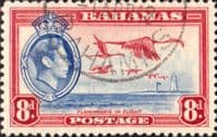 Bahamas 1938 George VI Flamingoes in Flight SG 160 Fine Used