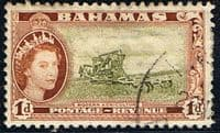 Bahamas 1954 Combined Harvester SG202 Fine Used