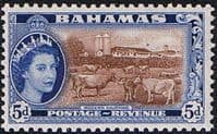 Bahamas 1954 Modern Dairying SG207 Fine Mint