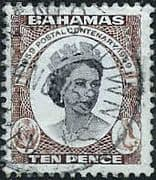 Bahamas 1959 Centenary of 1st Postage Stamp SG 220 Fine Used
