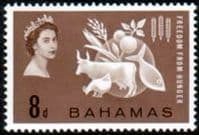 Bahamas 1963 Freedom From Hunger Fine Mint