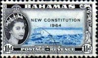 Bahamas 1964 New Constitution SG 230 Fine Used