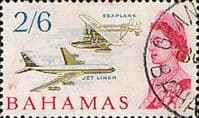 Bahamas 1965 SG 258 Sikorsky S-38 Flying Boat Fine Used