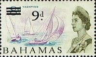 Bahamas 1965 SG 264 Yachting Surcharged Fine Mint