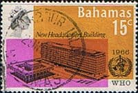 Bahamas 1966 World Health Organisation Headquarters SG 291 Fine Used