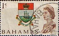 Bahamas 1967 Decimal SG 295 Coat of Arms Fine Used