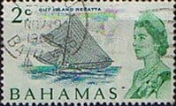 Bahamas 1967 Decimal SG 296a Out Island Regata Fine Used