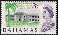 Bahamas 1967 Decimal SG 297 High School Fine Mint