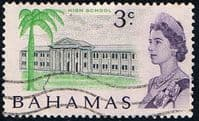Bahamas 1967 Decimal SG 297 High School Fine Used