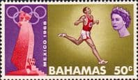 Bahamas 1968 Olympic Games SG 321 Fine Mint