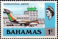 Bahamas 1971 International Airport SG 359 Fine Mint