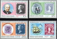 Bahamas 1979 Rowland Hill Set Fine Mint