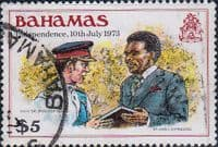 Bahamas 1980 Independence SG 572 Fine Used