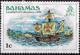 Postage Stamps Bahamas 1980 Eleutheran Adventurers SG 559 Fine Used