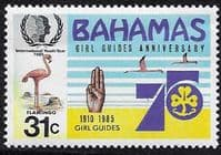 Bahamas 1985 International Youth Year SG 705 Fine Mint