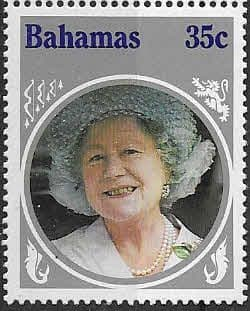 Bahamas 1985 Queen Mother Life and Times SG 714 Fine Mint