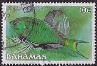 Bahamas 1986 Fish Stoplight Parrotfish SG 759A Fine Used