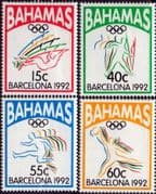 Bahamas 1992 Olympic Games Set Fine Mint
