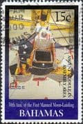 Bahamas 1999 30th Anniv of First Manned landing on Moon SG 1179 Fine Used