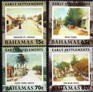Bahamas 2001 Early Settlements Set Fine Mint