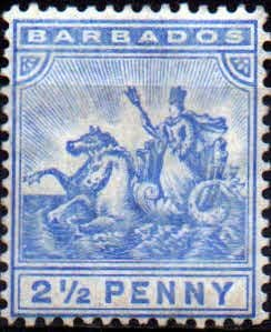 Barbados 1892 Seal of the Colony SG 109 Fine Mint