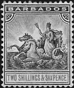 Barbados 1892 Seal of the Colony SG 114 Fine Mint