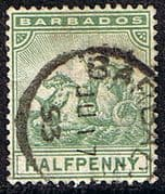 Barbados 1905 Seal of the Colony SG 136 Fine Used