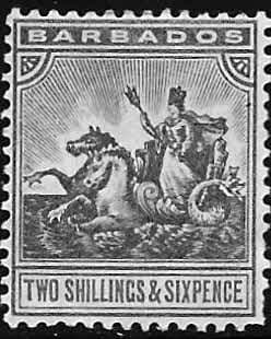 Stamps of Barbados 1905 Seal of the Colony SG 139 Fine Used Scott 96