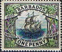 Barbados 1906 Terecentenary of Annexation SG 152 Fine Mint