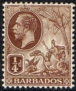 Barbados 1912 Seal of the Colony SG 170 Fine Mint