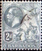 Barbados 1912 Seal of the Colony SG 173 Fine  Used