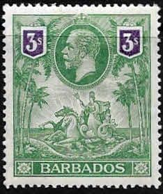 Stamps Barbados 1912 Seal of the Colony SG 178 Fine Used Scott 124