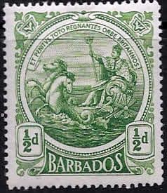 Barbados 1916 Seal of the Colony SG 182 Fine Mint