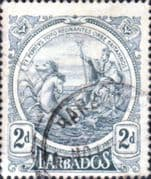 Barbados 1916 Seal of the Colony SG 184 Fine Used