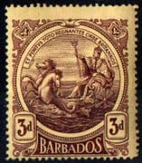 Barbados 1916 Seal of the Colony SG 186 Fine Mint