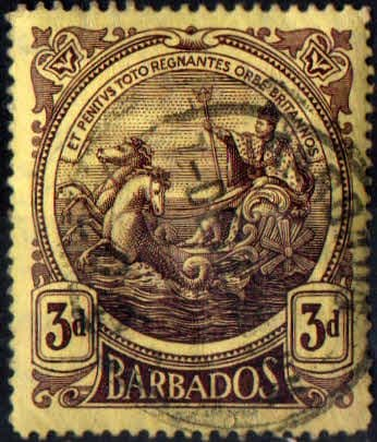 Barbados 1916 Seal of the Colony SG 186 Fine Used