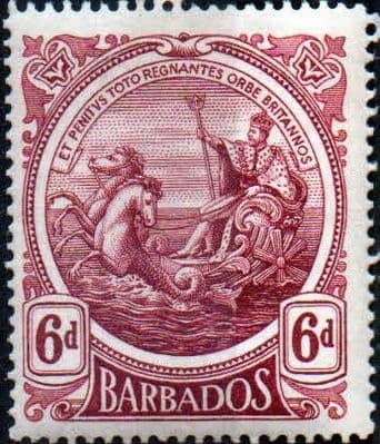 Stamps Barbados 1916 Seal of the Colony SG 185 Fine Used Scott 131