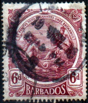 Barbados 1916 Seal of the Colony SG 188 Fine Used
