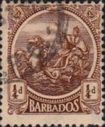 Barbados 1921 Seal of the Colony SG 217 Fine Used