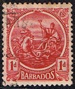 Barbados 1921 Seal of the Colony SG 220 Fine Used
