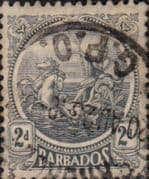 Barbados 1921 Seal of the Colony SG 221 Fine Used