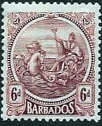 Barbados 1921 Seal of the Colony SG 225 Fine Mint