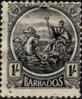 British West Indies Stamps Barbados 1921 Seal of the Colony SG 226 good Used Scott 159