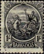 Barbados 1921 Seal of the Colony SG 226 Good Used
