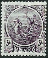 West Indies Stamps Barbados 1921 Seal of the Colony SG 221 Fine Used Scott 155