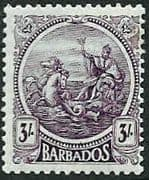 Barbados 1921 Seal of the Colony SG 228 Fine Mint