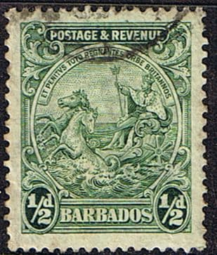 Barbados 1925 Seal of the Colony SG 230a Fine Used