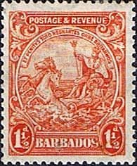 Barbados 1925 Seal of the Colony SG 231c Fine Mint